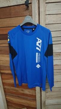 アシックス/asics A77 プラクティスシャツ プラシャツ 長袖 ロング S