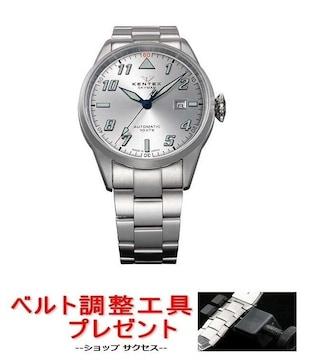 送無新品■ケンテックス腕時計S688X-21国内正規品★ベルト調整具