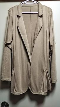 ☆袖ロールアップ薄手ジャケット☆新品未使用羽織り
