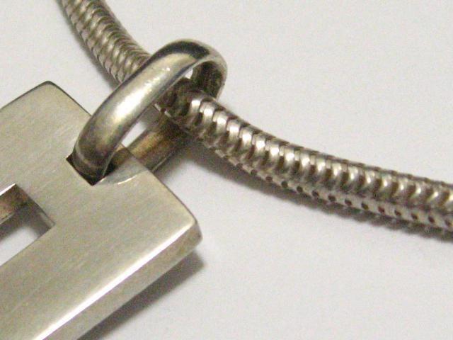 GUCCI.グッチBIGサイズGロゴ&太め滑らかスネークチェーン短めチョーカーstyleネックレス