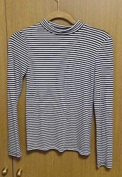 �@EMODAボーダーロングTシャツ サイズS