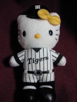 ハローキティ プロ野球 阪神タイガース COOP コラボ ユニフォーム コスプレ ぬいぐるみ