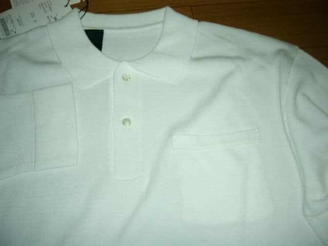 新品ミスターハリウッドN.HOOLYWOODポロシャツ38白定価32000円 < ブランドの