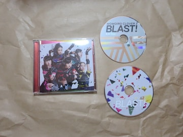 中古CD+Blu-ray BLAST ももクロ 送料込み