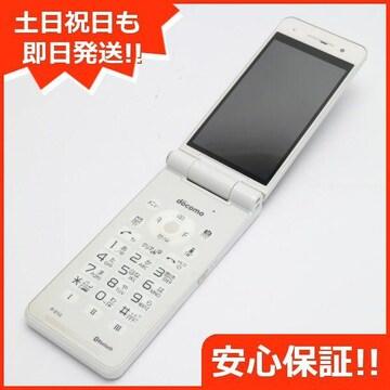 ●安心保証●美品●P-01G ホワイト●白ロム
