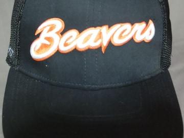 ナイキ【DRY FIT】オレゴン州大ビーバーズ ロゴ刺繍メッシュCAP