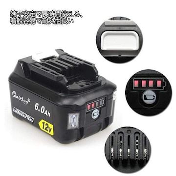 BL1015 12V 互換 バッテリ 6.0Ah