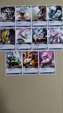 デカレンジャーカード11種 スーパー戦隊カード レンジャーズストライク