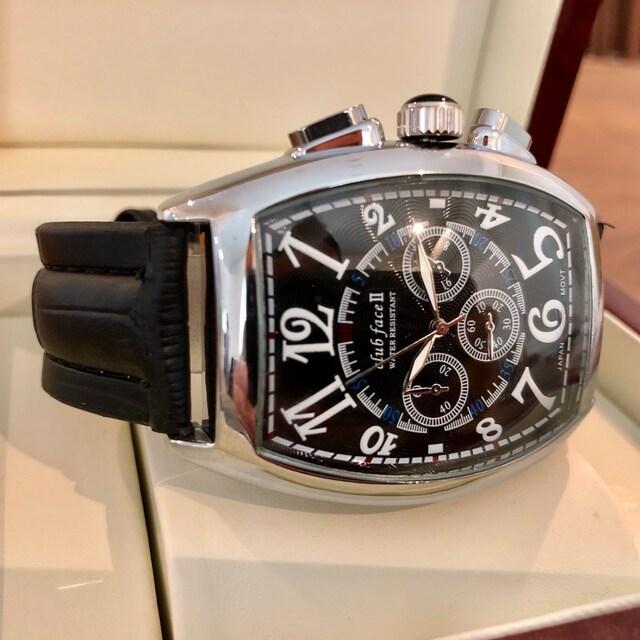 最安値!品のあるデザイン!メンズ腕時計・銀枠×ブラック  < 男性アクセサリー/時計の