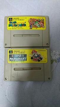 スーパーファミコン マリオカート マリオワールドセット