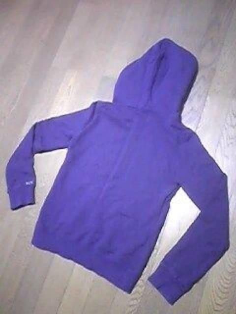 エックスガール/パーカー/フード付/サイズ1=Sサイズ/紫色 < ブランドの