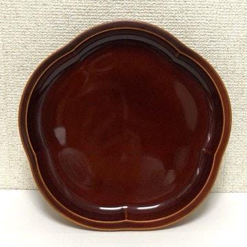 新品 梅型 菓子鉢 22.5cm