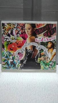 倖田來未 Cherry Girl/運命 [CD+DVD]