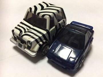 チョロQ・トヨタ ランクル、ちびっこトヨタMR-2 (他も出品中)