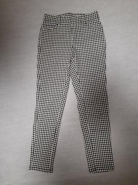 黒×白チェック柄パンツ☆