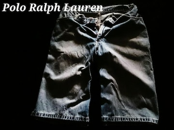 【POLO】ラルフローレン Vintage Washed デニムショーツ 29/M.Wash