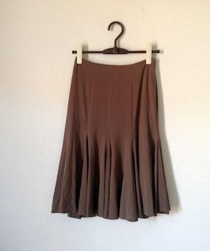 Mプルミエブラック◆キュプラ68% さらさら フレア スカート