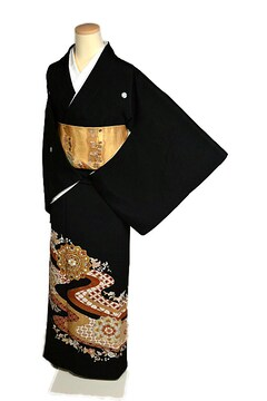 【最高峰】新品同様 創業460年【千總】比翼付 黒留袖 T2119