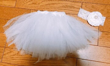 m�@ベビーコスチュームドレス?白