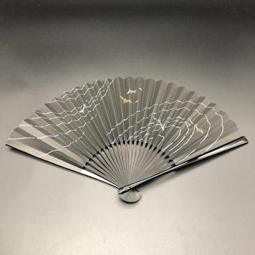 即決 扇子 センス 鯉