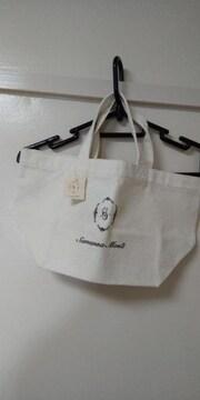 サマンサモスモス♪キャンパスバッグ未使用品