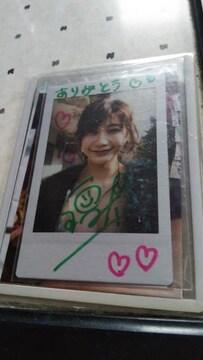 小倉優香の直筆サイン入りチェキ