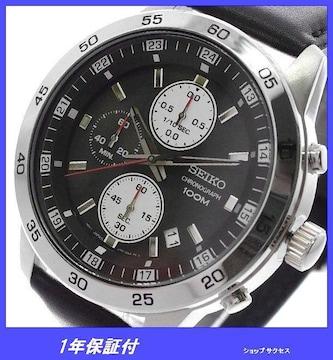新品 即買///セイコー SEIKO 腕時計 メンズ SKS649P1 ブラック