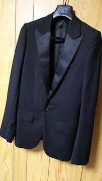 国内正規 Dior Hommeディオールオム スモーキングジャケット黒 最小38 XXS 08AW
