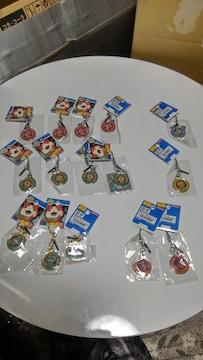 妖怪ウォッチ メタルチャーム 6種 新品未開封