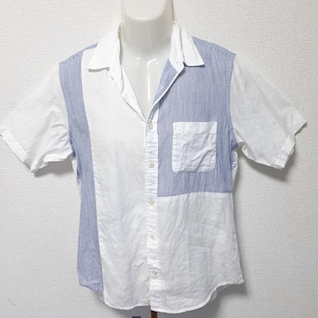 美品 COMME CA ISM コムサイズム 半袖 シャツ 送料無料