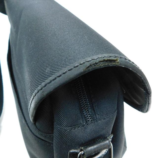 ハンティングワールド ショルダーバッグ キャンバス 黒 正規品 < ブランドの