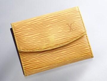 K0592M ヴィトン エピ 本革 カード&コインケース FRANCE製