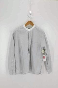 Steven Alan(スティーブンアラン)ストライプバンドカラーシャツシャツ