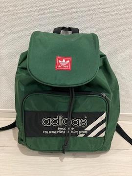 アディダス adidas リュック ナップサック バッグ 緑 キッズ 遠足 エース ACE