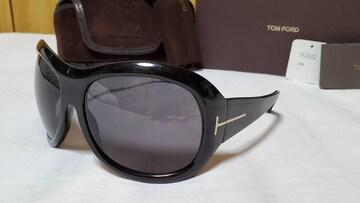 正規レア トムフォード グラマラス サングラス黒 ゴールドTエンブレム フルフレーム 付属有