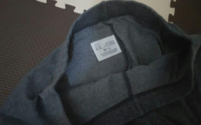 膝上スパッツ グレー 美品 M〜Lサイズ < 女性ファッションの