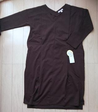 マタニティL★産前産後ワンピース★カーキ★新品
