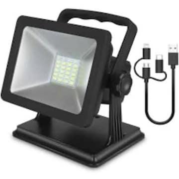 LED投光器 15W作業灯 超薄型 LEDライト 非常灯 防水集魚灯 看板