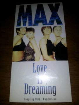 MAX☆ラブイズドリーミング◇CDシングル美品!ワンダーランド!