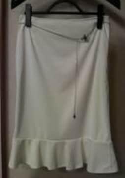 Pinky&Dianne★ベルト付きマーメイドラインスカート