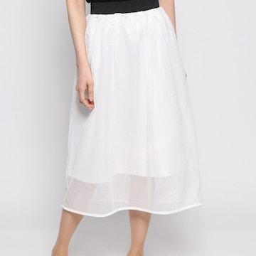 SEVENDAYS=SUNDAY ハニカムメッシュ ミディアムスカート