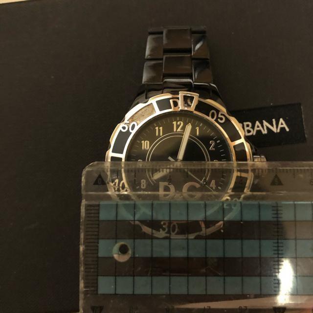 1スタ 超大人気☆ ドルチェ&ガッバーナ ブラック ベゼル腕時計
