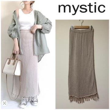 ☆mystic 透かし編みニットスカート☆