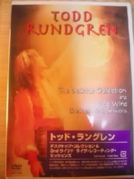 DVDソフト トッドラングレン デスクトップコレクション ロック ビデオクリップ 未開封 洋楽