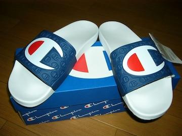 新品チャンピオンChampionサンダル41/42靴ゴム草履ロゴ