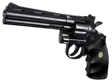 コルトパイソン .357マグナム 6インチ ブラックモデル