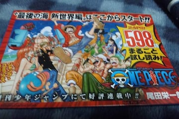 ■ONE PIECE■ワンピース第598話お試し本!