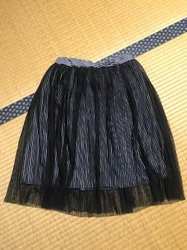 美品 シフォンスカート キッズ 140