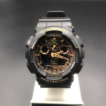 即決 CASIO カシオ G-SHOCK 腕時計 GA-100CF
