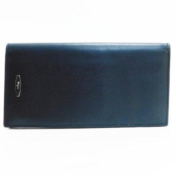 Ferragamoフェラガモ 札入れ 財布 レザー 黒 良品 正規品